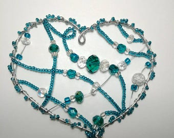 Pictures for home decor in teal