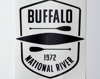 Buffalo River Decal