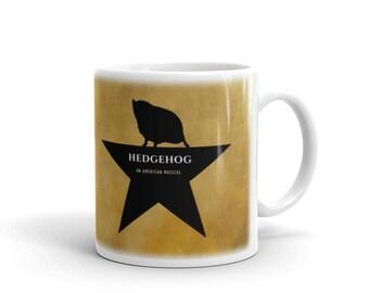 Hedgehog An American Musical Mug Cute Hedgehog Mug By Urchin Wear