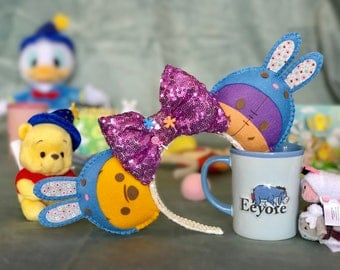 Disney Pooh/Eeyore Easter Bunny Ears