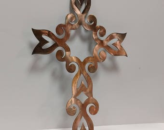 Cross with an Antique Copper