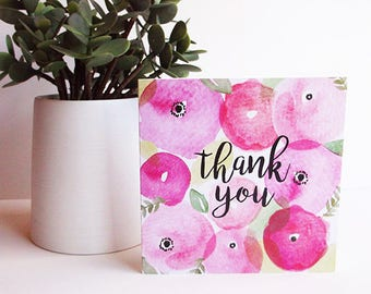 Rosey Thank You card