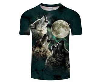 Wolf Shirt, Wolf Shirts, Wolf Tee Shirt, Wolf Tshirt, Wolves Shirt, Wolf T-shirt, Wolf, Wolves, Wolves Tshirt, Shirt, Wolf Tee - Style 10