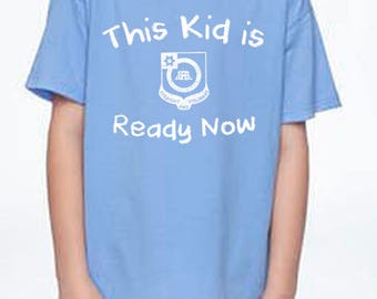 Youth Blue Ready Now Shirt
