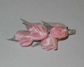 hairpin with roses