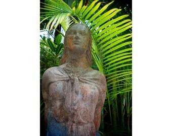 Female Statue in Nassau Bahamas Fine Art Photography