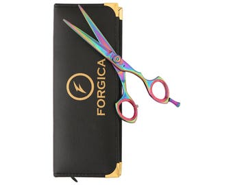 Professional Salon Shears Multicolor Jewel Hairdressing Scissors Barber Shears