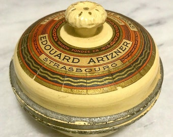 Edouard Artzner 1970s Foie Gras Jar