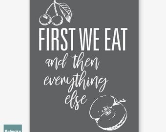 Food Quotes Etsy
