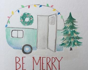 Teardrop Trailor Christmas