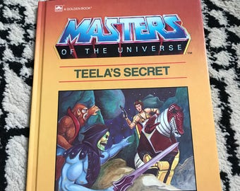 Masters Of The Universe Story Book