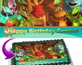 Dinosaur Train Edible Cake Topper