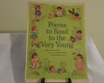 Poems to Read to the Very Young Book