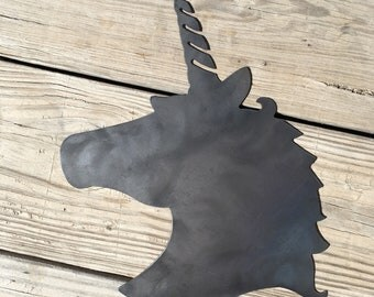Unicorn Silhouette Wall Art