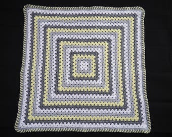 Handmade crochet Baby Blanket (66cm/26inches square)