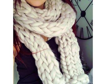 Scarf knit Xxl