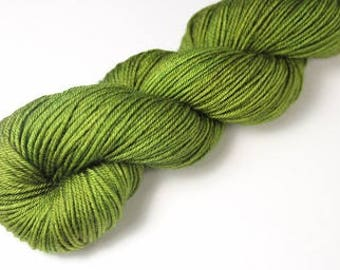 Skein hand - dyed Fingering - superwash Merino - 50 g / 200 m - JADE