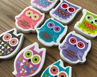 Owl Eraser