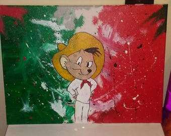 Speedy gonzales mexican flag