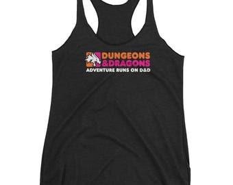D&D Dunkin' Donuts Ladies' Racerback Tank