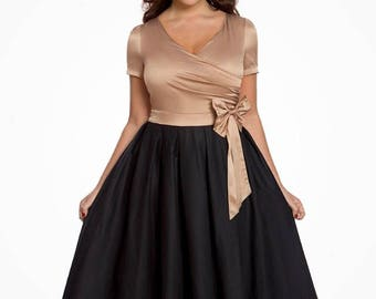 Brand New Plus Size LindyBop Party Swing Dress and Petticoat