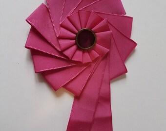Pink Rosette, Steampunk,