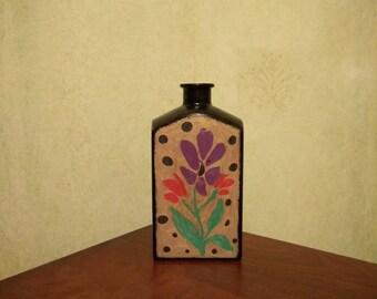 Bottle vase carafe home decor gift kithen decor room decor