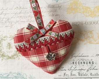 Decorative hanging heart / gift
