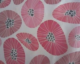 Hand-painted silk handkerchief. PP0013