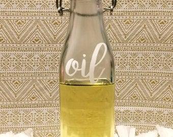 Oil Vinegar Bottle