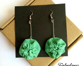 Tosca - Upcycled earrings
