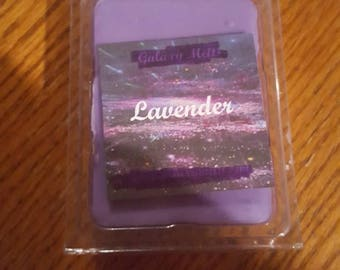 A relaxing scent of lavender