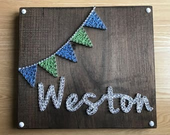 Name String Art