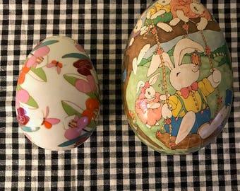 Easter Egg Trinket Boxes