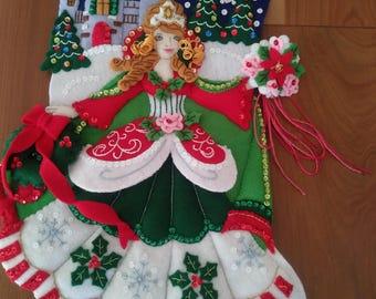 Christmas Stocking - Princess Stocking - Bucilla