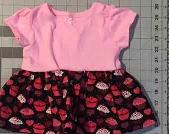 Valentine Cupcake Dress