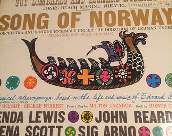 Song of Norway- Guy Lombardo and Leonard Ruskin's- Vinyl Record Album