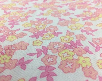 Vintage fabric Fabric Flower Power 0, 50x 80cm
