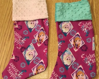 Frozen Christmas Stockings
