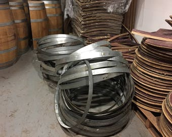 Wine Barrel Hoops ( 4 per order )