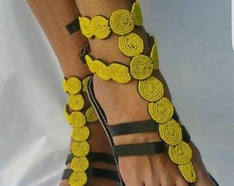 Masaai women sandals