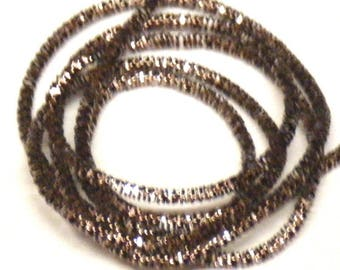 Mink brown bright french wire/purl/gimp