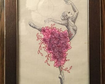 "Embroidery ""Ballerina"""