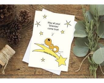 Driemies come true - Home made Christmas card