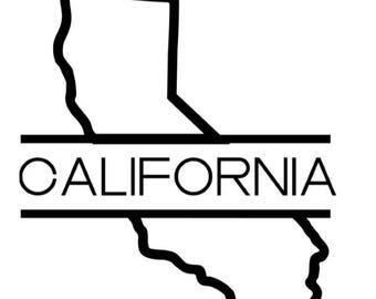 California Decal - Car Decal - California Sticker