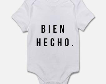 Bien Hecho Onesie