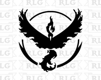 Pokemon Go Team Valor Decal