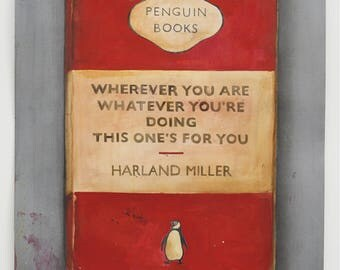 Harland Miller 'Wherever you are' print