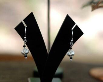 Summer night earrings