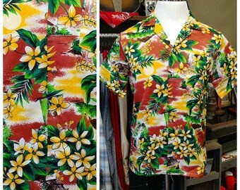 Vintage Hawaiian Shirt by Mr. Jan of California